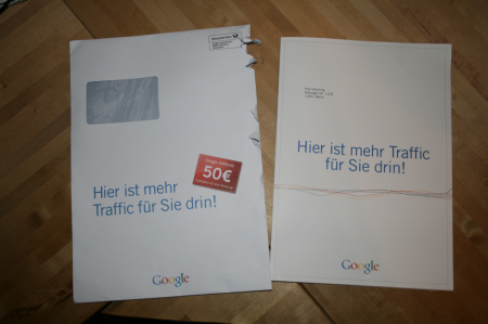 google brief adwords gutschein 50 euro